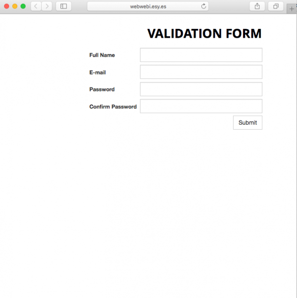 Fake login page is presented by link.