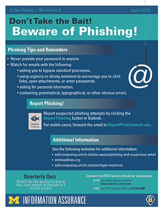 Don't Take the Bait! Beware of Phishing!