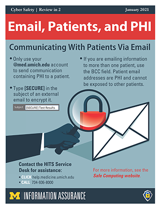 Email, Patients, and PHI