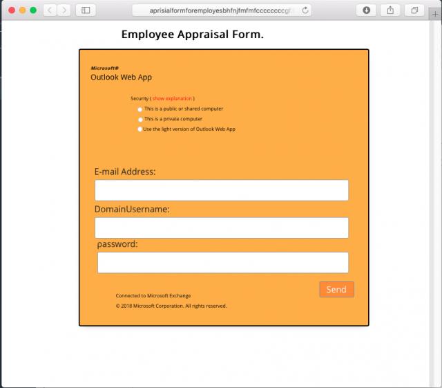 Phishing Site Screenshot