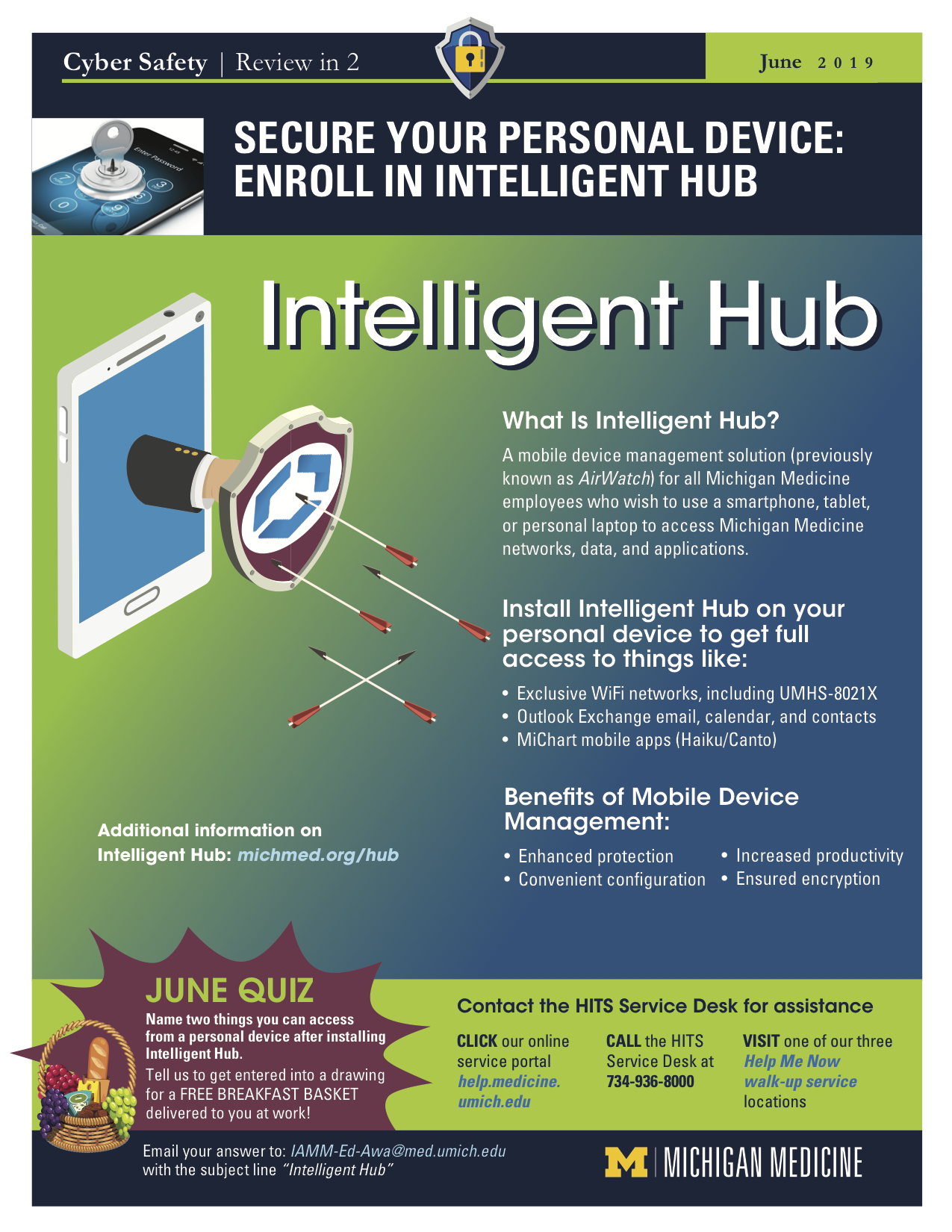 June 2019 Enroll in Intelligent Hub