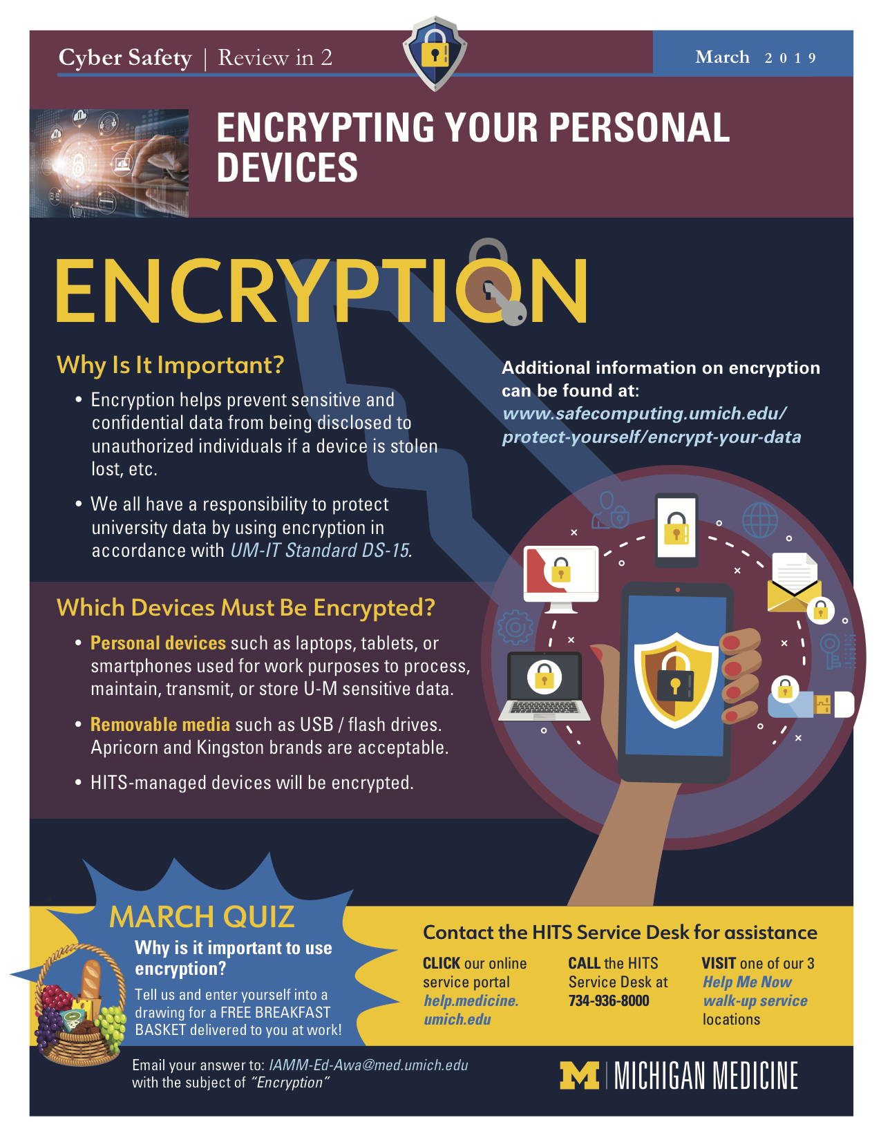 March 2019 poster Encryption