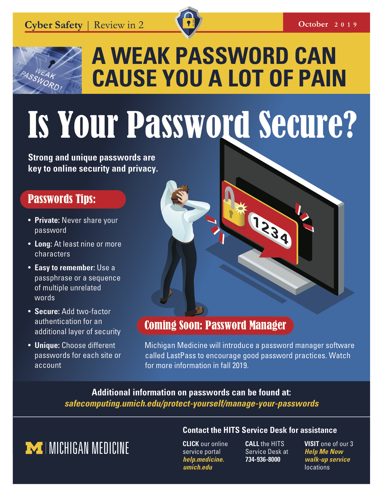 Is Your Password Secure? poster